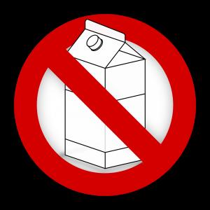 allergic to milk lactose intolerant