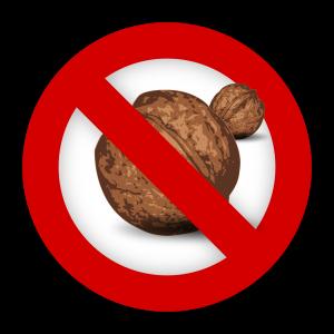 allergic to nuts peanut intolerant
